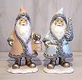 Nikolaus Santa Weihnachtsmann Weihnachten Deko Shabby Chic Xmas Franske Figur (Nikolaus - Set)