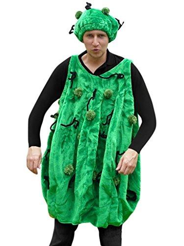 F30/00 Gr. M Kaktus Kostüm für Fasching und Karneval, Kostüme für Frauen Männer Erwachsene Paare, Faschingskostüm, Karnevalkostüm