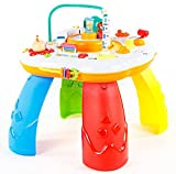 Spieltisch KP6337 Musikalisches Spielzenter Spieltisch mit Musik Lerntisch Baby