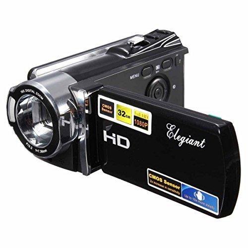 1080P Digital-Videokamera-Kamerarecorder mit 16x Zoom und Full HD mit Express Panda®