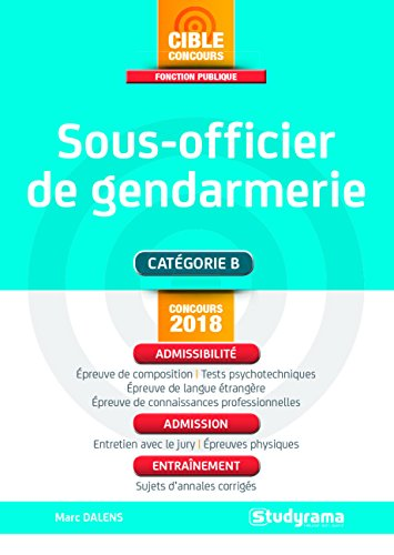 Sous-officier de gendarmerie : Concours externe