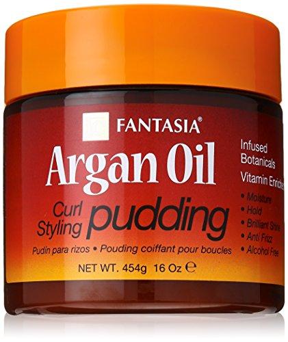 Fantasia Argan OIl Curl Styling Pudding 16Oz