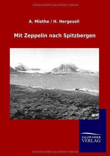 Mit Zeppelin nach Spitzbergen