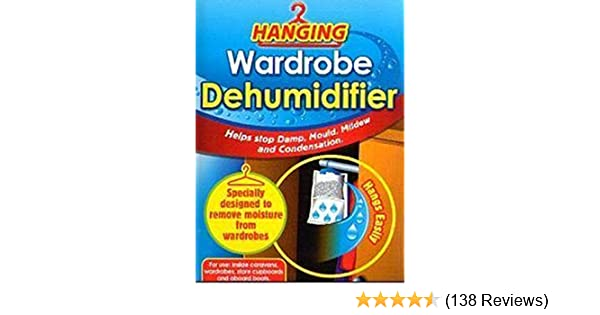 3 X Interior Hanging Wardrobe Dehumidifier By AirWise Helps Stop Damp by AirWise