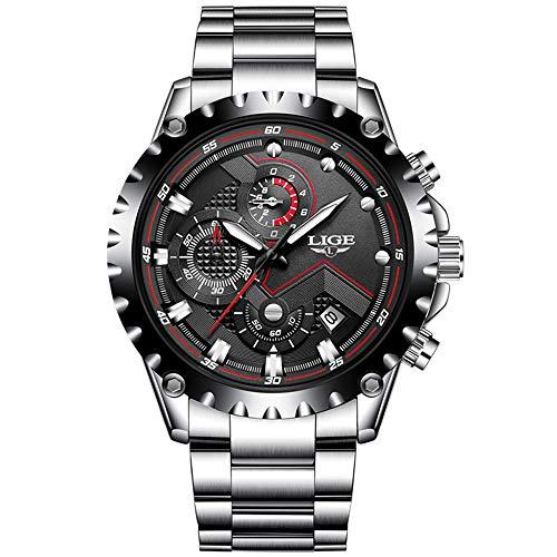 log Quarz mit Edelstahl Armband S-VFD1 ()