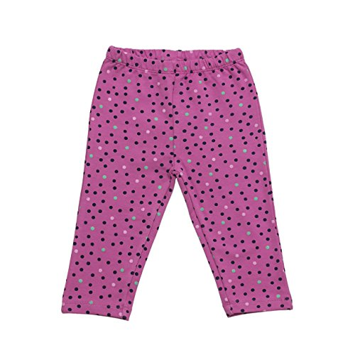 SALT AND PEPPER Baby-Mädchen B Legging Little Ones Allover, Rosa (Crocus 864), 68
