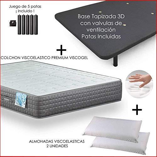 Dulces Sueños Pack COLCHON VISCOELASTICO Premium