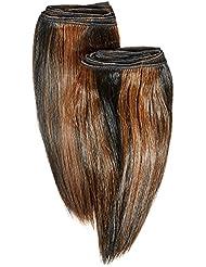 chear Euro soyeuse droite trame Extension de cheveux humains 2en 1avec mélange de tissage Nombre P1B/30, Off...