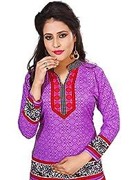 Unifiedclothes Women Fashion Casual Short Indian Kurti Tunic Kurta Top Shirt Dress 104D