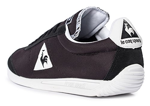 Le Coq Sportif Quartz, Baskets Basses Mixte Adulte Noir