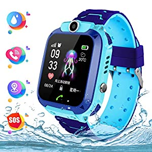 GPS localizador Reloj Inteligente para Niños Telefono, Tracker Podómetro Anti-pérdida para Chico Chica, Perímetro de… 6