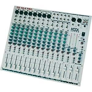 Console DJ Kool Sound ZS 16-4 USB/DSP-Sonorisation