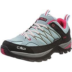 CMP Rigel, Zapatos de Low Rise Senderismo para Mujer, Turquesa (Anice-Tortora-Ibisco), 38 EU