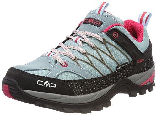 CMP Rigel, Zapatos de Low Rise Senderismo para Mujer, Turquesa (Anice-Tortora-Ibisco), 37...