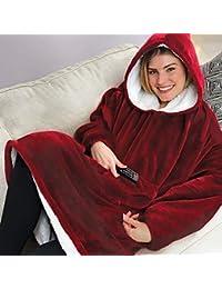 Andy Mr Huggle Hoodie,Hooded Robe, Spa, Bathrobe, Sweatshirt, Fleece,  Pullover, Blanket, Mens,… 90281a59dc