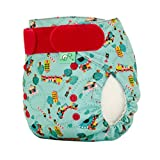 TotsBots Easyfit Choo Choo Star Reusable Washable Nappy from 8lbs to 35lbs