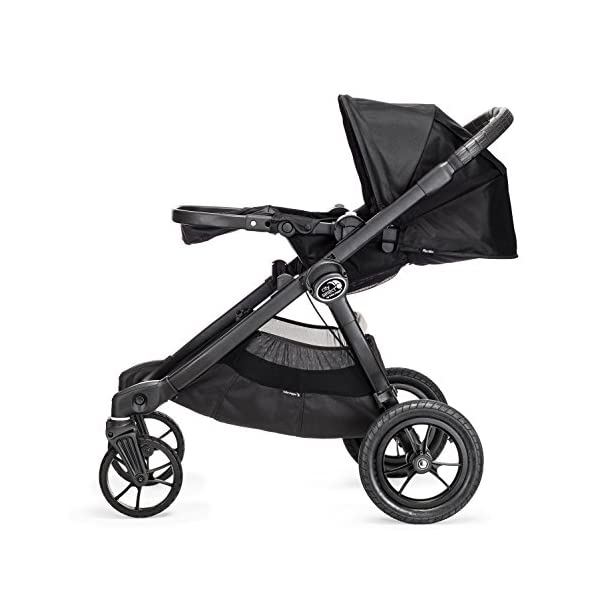 Baby Jogger City Select Single Stroller Black  From 6 months -15 kg Patented Quick-Fold Technology- fold your stroller in one step 16 possible seating combinations (with double conversion kit sold separately) 4