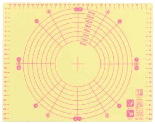 viv silicium cuisson cr?me tapis jaune 59 845 (Japon import / Le paquet et le manuel sont ?crites en japonais)