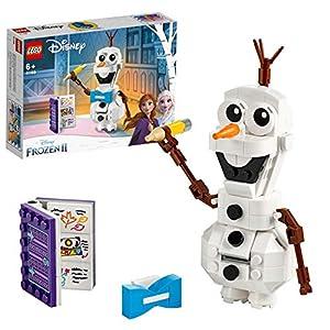 LEGO DisneyFrozenII Olaf, Figura del Pupazzo di Neve da Costruzione,Collezione della Principessa Elsa e Anna, 41169 5702016604092 LEGO