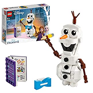 LEGO Disney Princess – Olaf, Juguete de Construcción del Muñeco de nieve de Frozen 2, a partir de 6 años (41169)