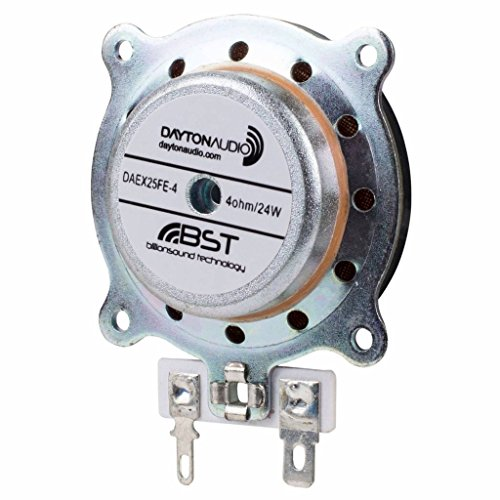 Dayton Audio DAEX25FHE-4 Framed High Efficiency 25mm Exciter 24W 4 Ohm -