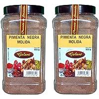 Galant - Pimienta Negra Molida Premium - Pack de 6 x 900 g