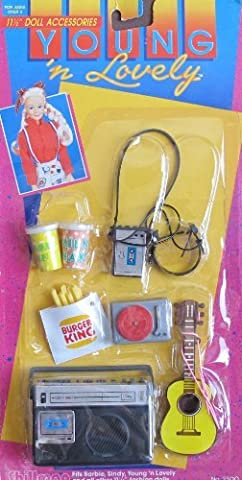 Young 'n Lovely ACCESSORIES Pack For Barbie, Sindy & 11.5