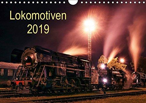 Lokomotiven 2019 (Wandkalender 2019 DIN A4 quer): Potraits und Details der Lokomotiven (Monatskalender, 14 Seiten ) (CALVENDO Technologie)