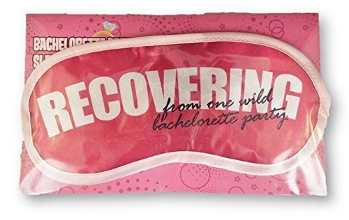 Novelty Recovering From One Wild Bachelorette Party Novelty Sleeping Mask for Travel or Home by Kalan