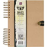 "Prima Marketing Sunrise Sunset Spiral Bound Mixed Media Art Journal 7.5"" X9.5-"