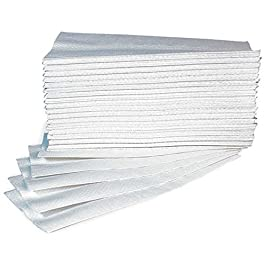 Asciugamani Carta Monouso Per Dispenser – Piegati a Z – Microgoffrato – Pura Cellulosa Interfoil – N. 25 Conf. da 150 pz