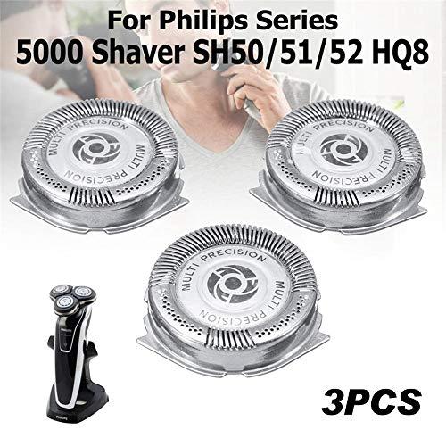G-wukeer Schneidkopf-Rasierwerkzeug (3 STÜCKE) - Für Philips Series 5000 Shaver SH50 / 51/52 HQ8 -