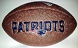Wilson Football NFL Patriots Logo, Braun, Mini, WL0206234220