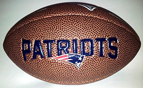 Patriots Logo, Braun, Mini, WL0206234220 (Nfl Footbal)