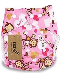iZiv(TM) Recién Nacido Orgánico con 1 Inserte Grueso Infantil Impermeable/Ajustable/