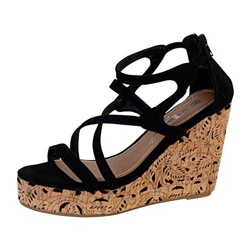 The Divine Factory Sandale Compensée