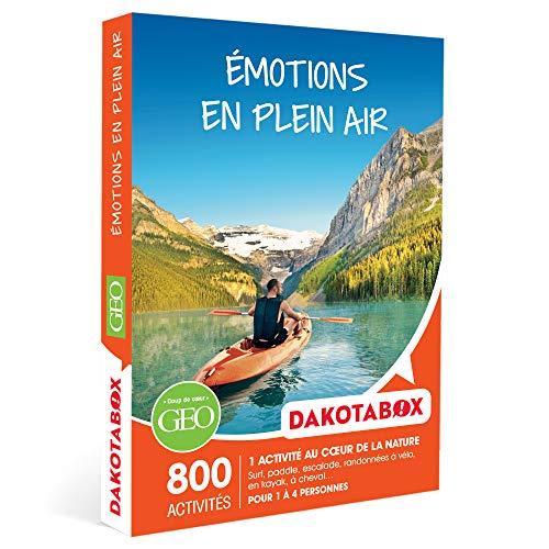 DAKOTABOX - Émotions en plein air - Coffret Cadeau Sport & Aventure - 1 aventure au...