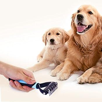 Dakpets Outil de toilettage et brosse de toilettage pour animal domestique