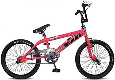 Rooster Big Momma Spoked Girls BMX Bike Gyro 360 (PINK)