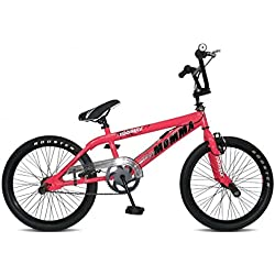 Rooster Big Momma Spoked Girls BMX Bike Gyro 360 (PINK)