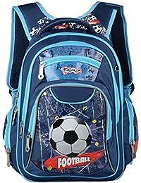 Preisvergleich für Jasmine Star®, Kinderrucksack Blau blau 38x28x14cm/14.97x11.03x5.52