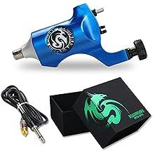 Dragonhawk Rotary Tattoo Machine Space Aluminum Machine Coloring (Blue)