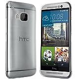 HTC One M9 Hülle in Transparent Silikonhülle Case Schutzhülle Tasche für HTC One M9