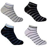 12 Paar L&K Herren Sneaker-Socken Füßlinge 39