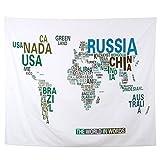 sourcing map Polyester Englisch Buchstabe Druck Falten Picknick Decke Matte 1.5M x 1.3Meter DE de