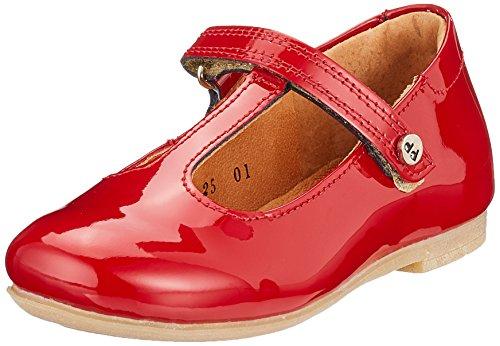 dren Ballerina G3140065 Riemchenballerinas, Rot (Red), 26 EU (Red Patent Leder Mädchen Schuhe)