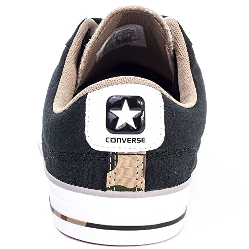 Converse Star Player C151304, Baskets Basses Mixte Adulte Noir