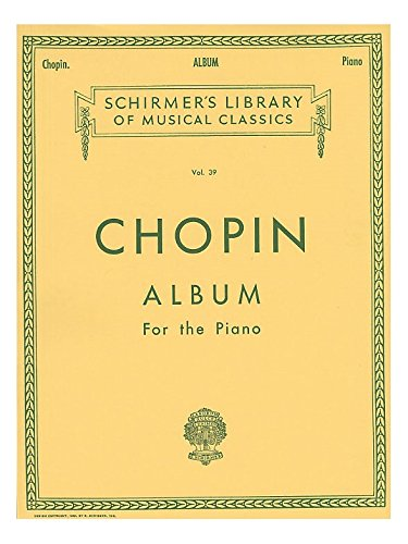 Frederic Chopin: Album For The Piano - Partitions