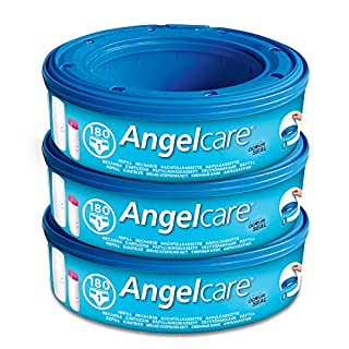 Angelcare Nappy Disposal System Refill Cassettes - Pack of 3 (B00143XJ7I) | Amazon price tracker / tracking, Amazon price history charts, Amazon price watches, Amazon price drop alerts