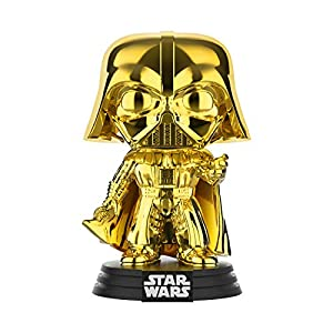 Funko Pop Darth Vader Dorado-Cromado (Star Wars 157) Funko Pop Star Wars